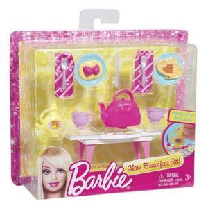 Coffret accessoires maison poup e barbie achat vente for Accessoire maison barbie