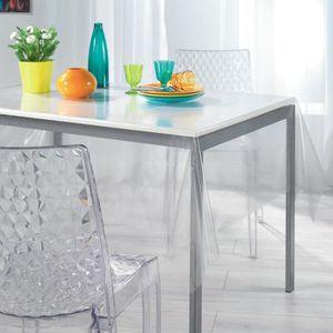 Nappe achat vente nappe pas cher les soldes sur cdiscount cdiscount - Protection transparente table ...