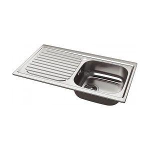 EVIER DE CUISINE Evier de cuisine Whirlpool en acier inox a encaste