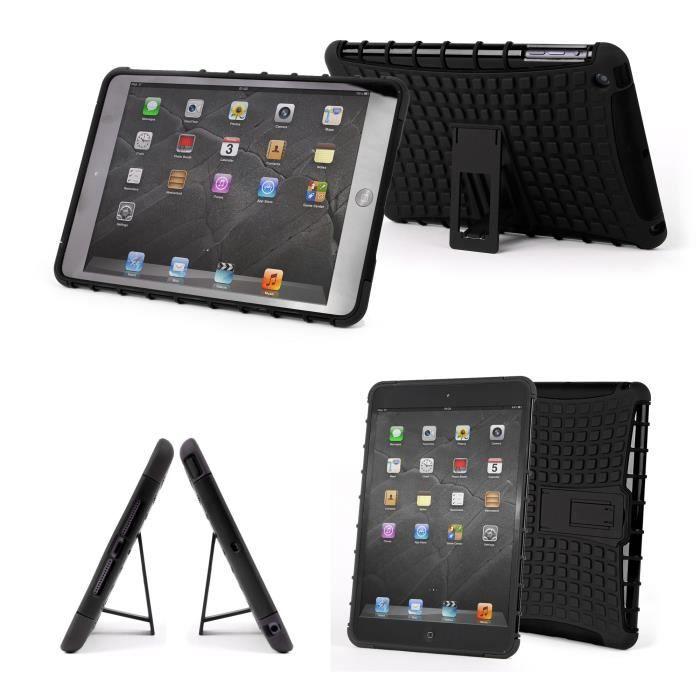 coque enfant noire pour tablette apple ipad mini 3 prix. Black Bedroom Furniture Sets. Home Design Ideas