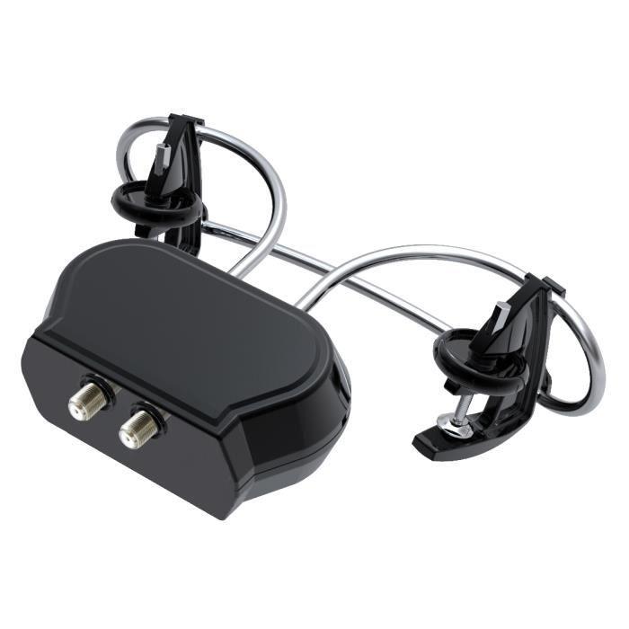 hd line antenne tv clip on uhf amplifi e r cepti antenne rateau avis et prix pas cher. Black Bedroom Furniture Sets. Home Design Ideas