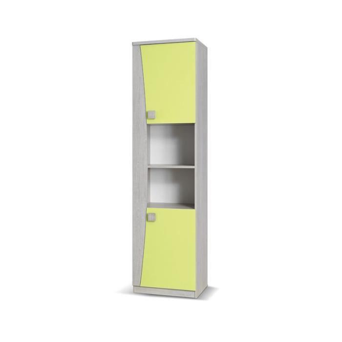 justhome tenus tn iii tag re bleu 193 x 50 x 40 cm citron. Black Bedroom Furniture Sets. Home Design Ideas