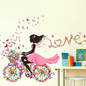 Stickers velo fille achat vente stickers velo fille pas cher cdiscount - Tickers chambre fille princesse ...