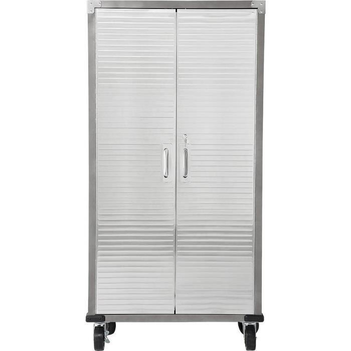 armoire de bureau acier design industriel achat vente. Black Bedroom Furniture Sets. Home Design Ideas