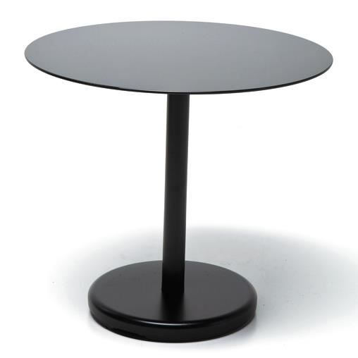 Circle by kare table d 39 appoint noir achat vente table for Table d appoint noire