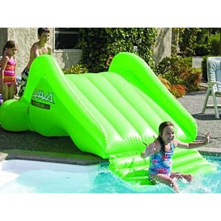 Toboggan gonflable astroslide 230cm pour piscine achat for Toboggan piscine gonflable