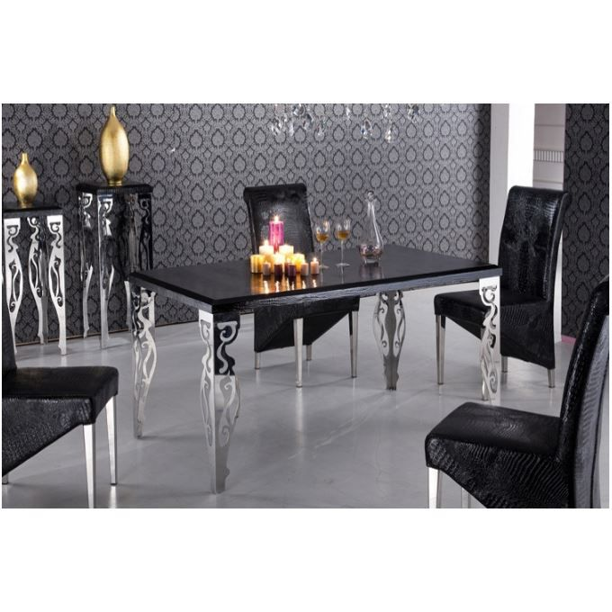 Table salle manger java for Table de salle a manger style baroque