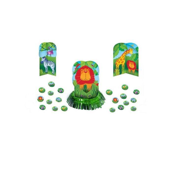 set de d 233 corations de table animaux de la jungle achat vente objet d 233 coratif les
