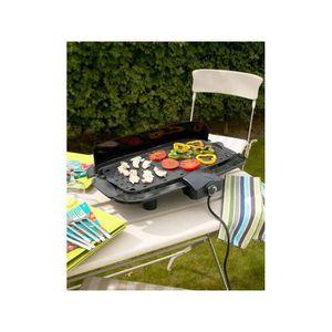 BARBECUE Barbecue électrique Citadin avec cuisson sur planc