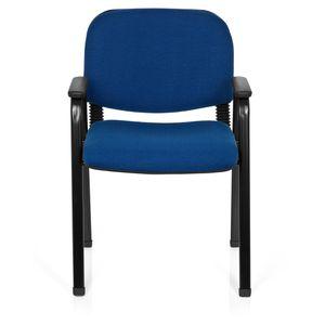 Chaise visiteur noir achat vente chaise visiteur noir for Chaise visiteur