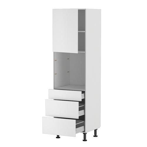 Meuble cuisine colonne four 60 200 4 1 porte 3 achat for Achat meuble cuisine