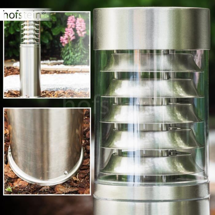 Borne d 39 clairage lampadaire ext rieur luminaire achat for Luminaire exterieur plastique