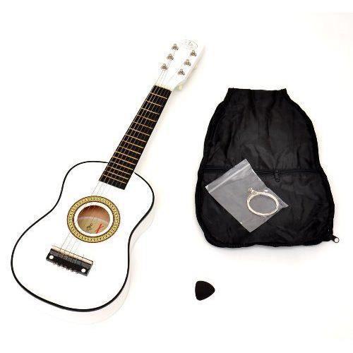 ts ideen 5205 guitare acoustique pour enfant blanc pas. Black Bedroom Furniture Sets. Home Design Ideas