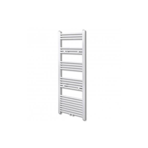 Superbe radiateur s che serviettes vertical pour salle de for Seche serviette salle de bain