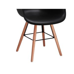 Chaise scandinave achat vente chaise scandinave pas for Chaises scandinaves noires