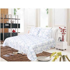 jete de canape bleu achat vente jete de canape bleu pas cher cdiscount. Black Bedroom Furniture Sets. Home Design Ideas