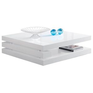 Table basse carr e achat vente table basse carr e pas for Table basse carree 100x100