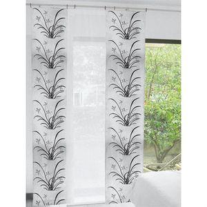 panneau japonais 60x240 cm jonc blanc achat vente. Black Bedroom Furniture Sets. Home Design Ideas