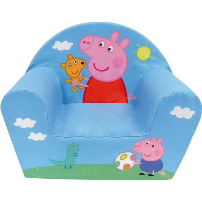 peppa pig fauteuil club achat vente fauteuil canap b b cdiscount. Black Bedroom Furniture Sets. Home Design Ideas