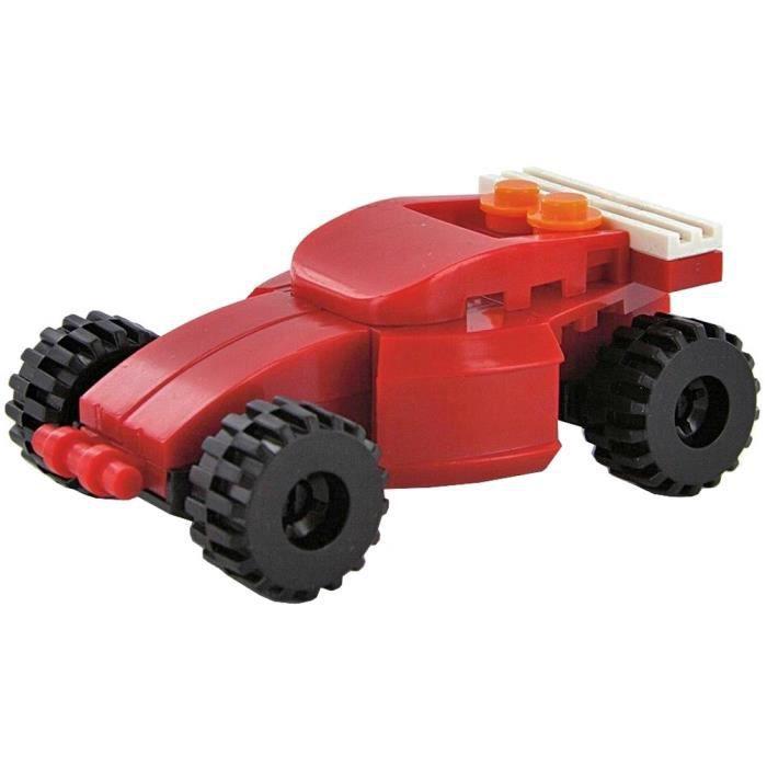 voiture jouet enfant blocs de construction buggy rouge n 2 achat vente voiture camion. Black Bedroom Furniture Sets. Home Design Ideas