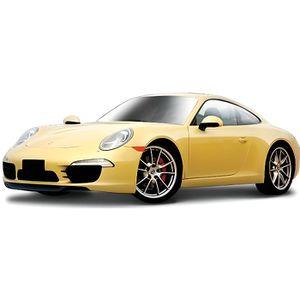 BBURAGO Véhicule Porsche 911 Carrera - Échelle 1/24?me - Métal