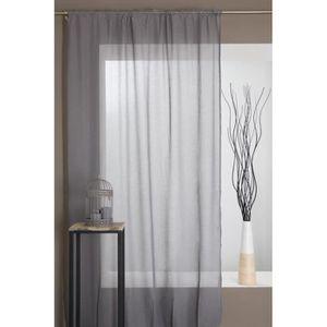 rideaux voilage galon fronceur achat vente rideaux voilage galon fronceur pas cher cdiscount. Black Bedroom Furniture Sets. Home Design Ideas