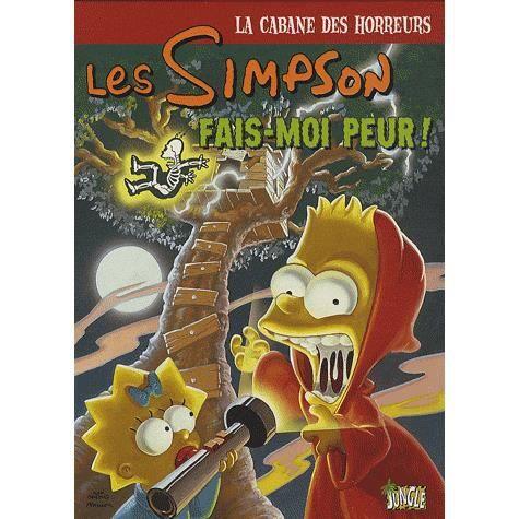 Les simpson la cabane des horreurs tome 1 achat vente livre batton lash neil alsip sergio - Bande dessinee simpson ...