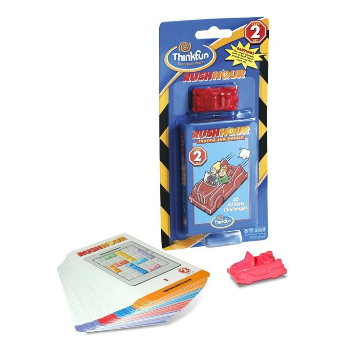 Ravensburger - Rush Hour - Recharge : Voiture rouge