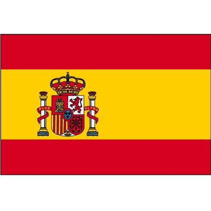 Drapeau espagne espagnol 145 cm x 90 cm achat for Decoration espagnol