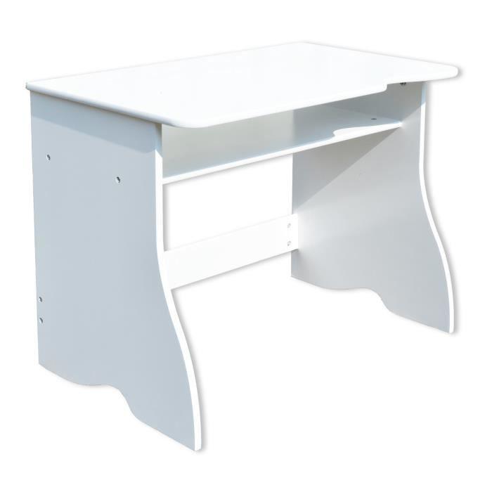 bureau enfant blanc 5 ans et plus achat vente bureau b b enfant soldes cdiscount. Black Bedroom Furniture Sets. Home Design Ideas
