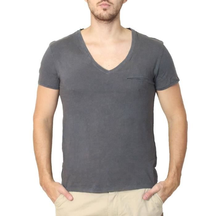 tommy hilfiger tee shirts homme anthracite achat vente t shirt tommy hilfiger tee shirts. Black Bedroom Furniture Sets. Home Design Ideas