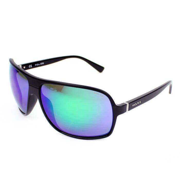 lunettes de soleil police s1856e noir verres g noir achat vente lunettes de soleil homme. Black Bedroom Furniture Sets. Home Design Ideas