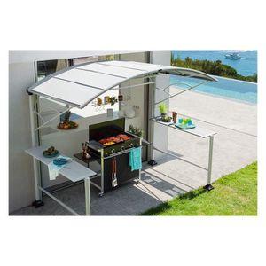 abri cuisine exterieure achat vente abri cuisine exterieure pas cher cdiscount. Black Bedroom Furniture Sets. Home Design Ideas