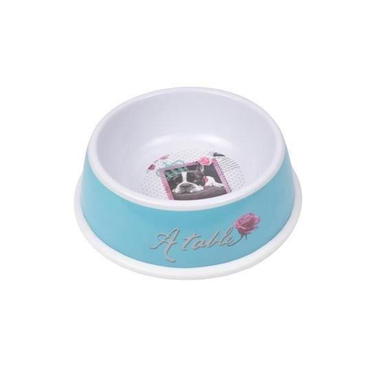 bol m lamine pour chien 21cm design vintage achat vente gamelle cuelle bol melamine. Black Bedroom Furniture Sets. Home Design Ideas