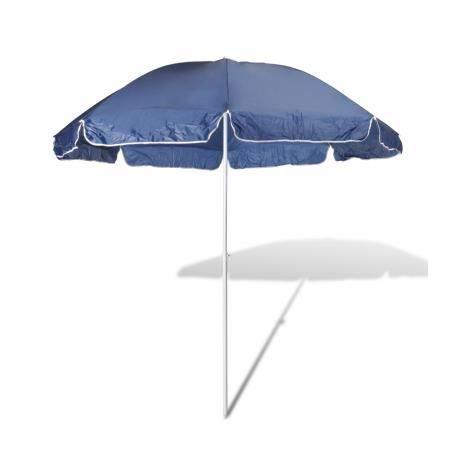 240cm parasol de plage bleu achat vente parasol 240cm parasol de plage bleu cdiscount. Black Bedroom Furniture Sets. Home Design Ideas