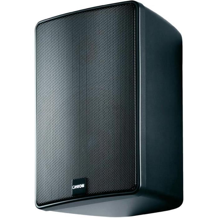 Enceintes bibliothèque Canton Plus GXL3 120W noire enceintes, prix
