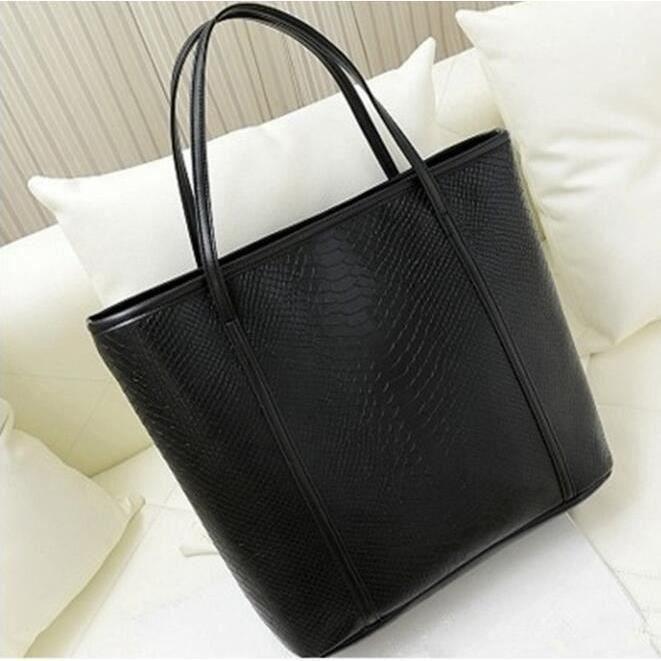 sac a main grand noir cuir achat vente sac a main. Black Bedroom Furniture Sets. Home Design Ideas