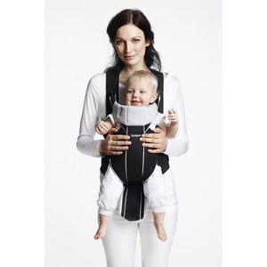BABYBJORN Porte-bébé Miracle noir/argent