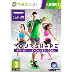 JEUX XBOX 360 YOUR SHAPE FITNESS EVOLVED 2012 / X360 KINECT