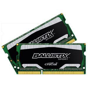 MÉMOIRE RAM Crucial Ballistix Sport - DDR3L - 8 Go : 2 x 4 Go
