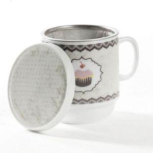 mug avec filtre et couvercle achat vente mug avec filtre et couvercle pas cher cdiscount. Black Bedroom Furniture Sets. Home Design Ideas