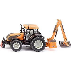 VOITURE À CONSTRUIRE SIKU Valtra Tracteur et Faucheuse en métal - Echel