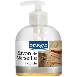 SAVON - SYNDETS Savon de marseille liquide Starwax - Flacon pompe