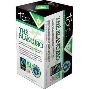 THÉ Touch Organic The blanc BIO 24 sachets 48g