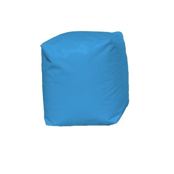 pouf cube bleu turquoise achat vente pouf poire pouf cube bleu turquoise cdiscount. Black Bedroom Furniture Sets. Home Design Ideas