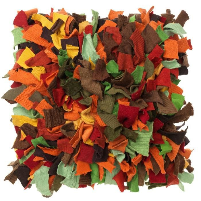 Housse de coussin tricot 40x40 cm terra achat vente - Housse de coussin en tricot ...