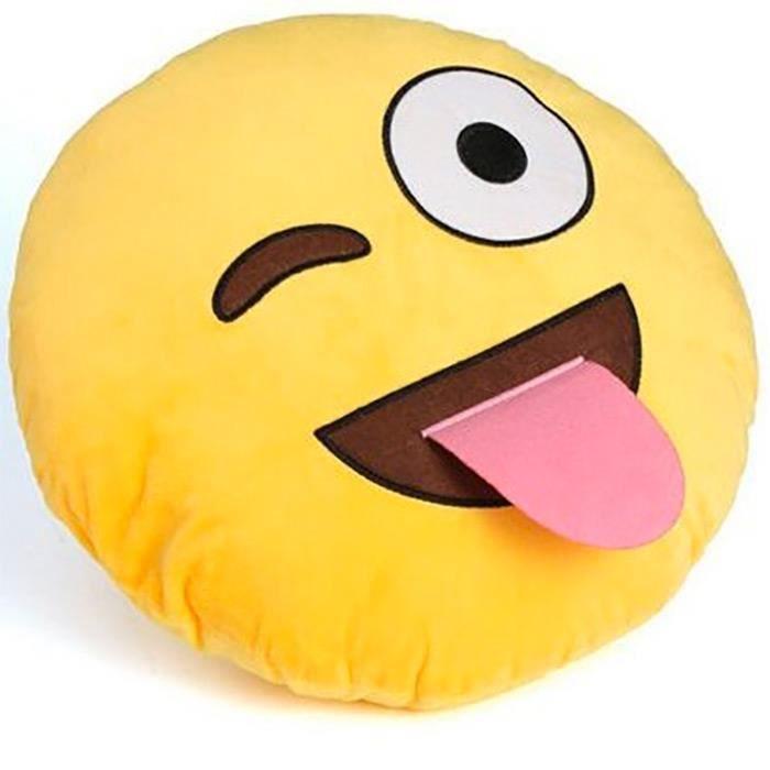 lot coussin emoji achat vente lot coussin emoji pas cher les soldes sur cdiscount cdiscount. Black Bedroom Furniture Sets. Home Design Ideas