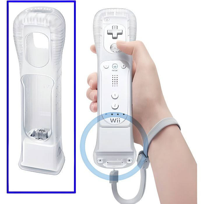 Motion plus blanc pour nintendo wii achat vente - Comment connecter manette wii a la console ...