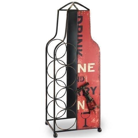 porte bouteilles fer bouteille 62x23 cm achat vente meuble range bouteille porte bouteilles. Black Bedroom Furniture Sets. Home Design Ideas