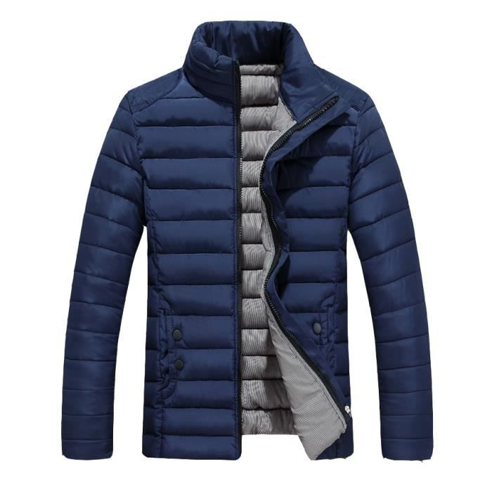 bleu manteau hiver homme tailles de marque auto bleu. Black Bedroom Furniture Sets. Home Design Ideas